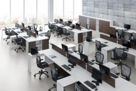 Plataformas de Trabalho Solution – Branco com Camerino
